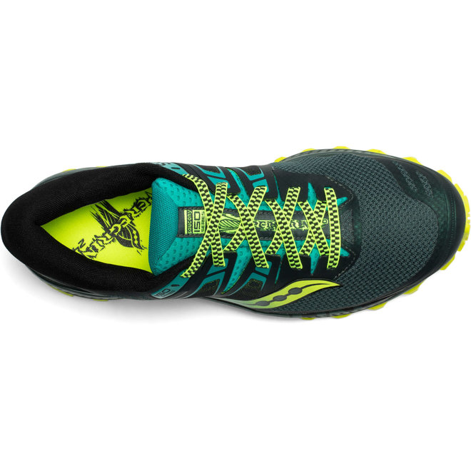 Saucony Peregrine ISO Trail running shoe Men Green