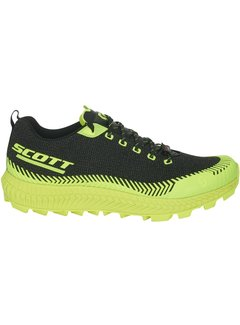 Scott Scott Supertrac Ultra RC Zwart/Geel Trailrunschoen
