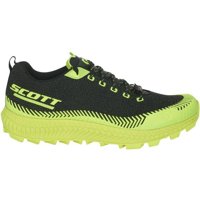 Scott Supertrac Ultra RC Zwart/Geel Trailrunschoen