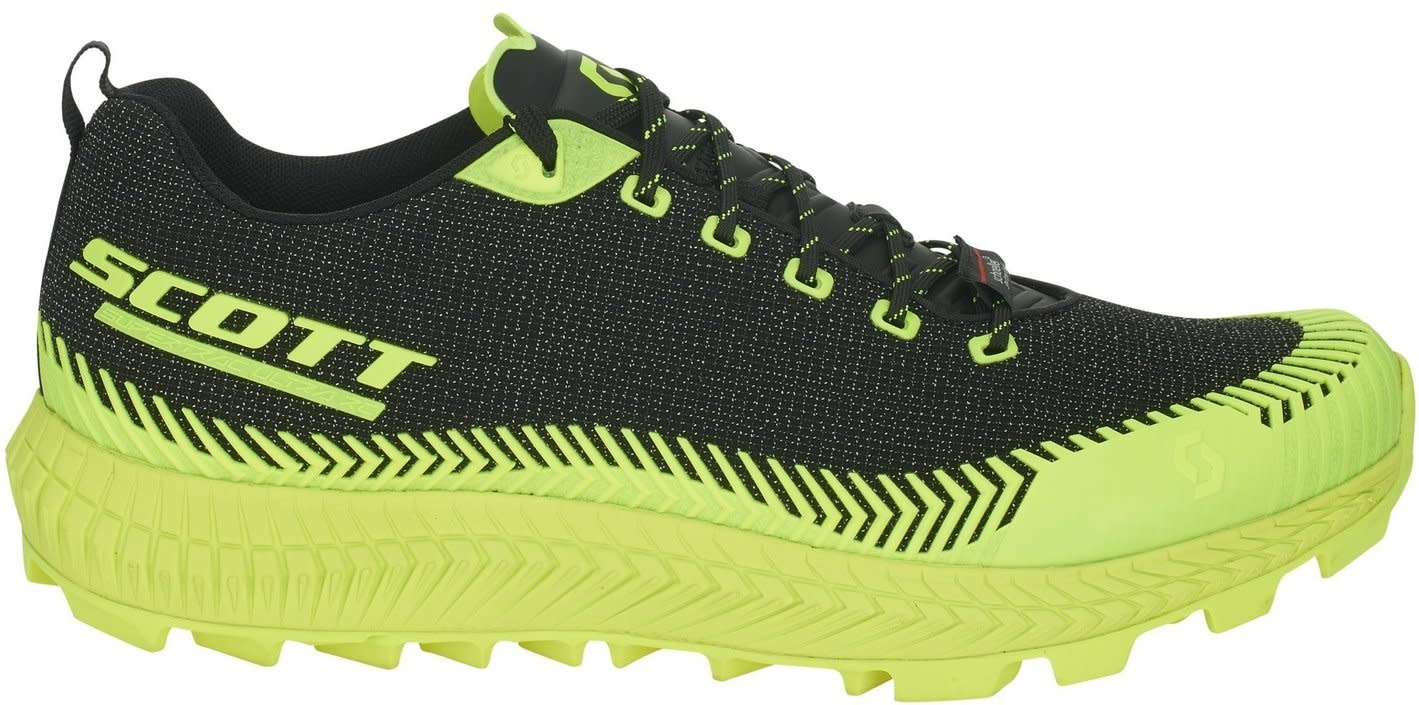 buying new run shoes new arrival Scott Scott Supertrac Ultra RC Black / Yellow Trail running shoe