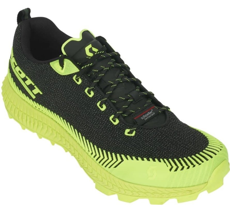 Scott Supertrac Ultra RC Zwart/Geel Trailrunschoen