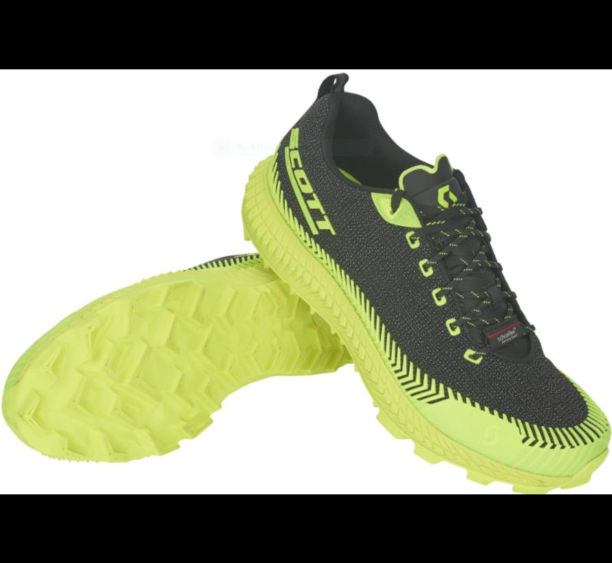 Scott Supertrac Ultra RC Schwarz / Gelb Trailrunning-Schuh