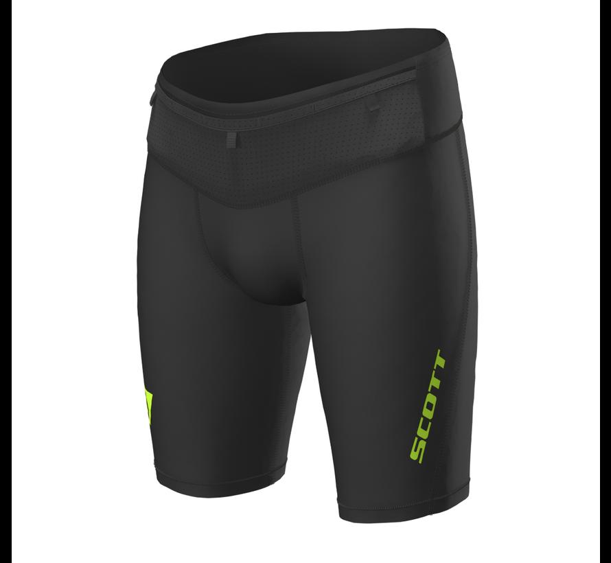Scott RC Run Tight Shorts Herren Schwarz / Gelb