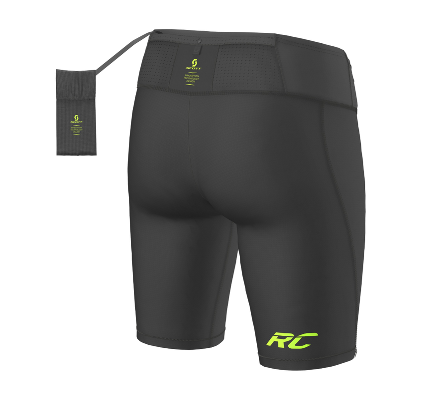 Scott RC Run Tight Shorts Men Black / Yellow