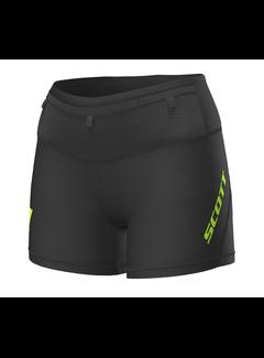 Scott Scott RC Run Tight Shorts Dames Zwart/Geel