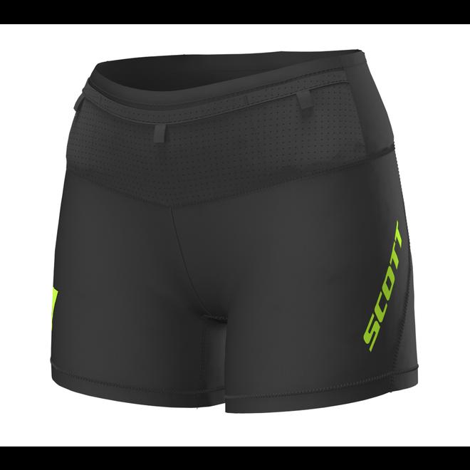 Scott RC Run Tight Shorts Ladies Black / Yellow