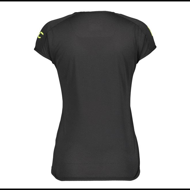 Scott Promo Run T-Shirt Trail Run Ladies Black / Yellow