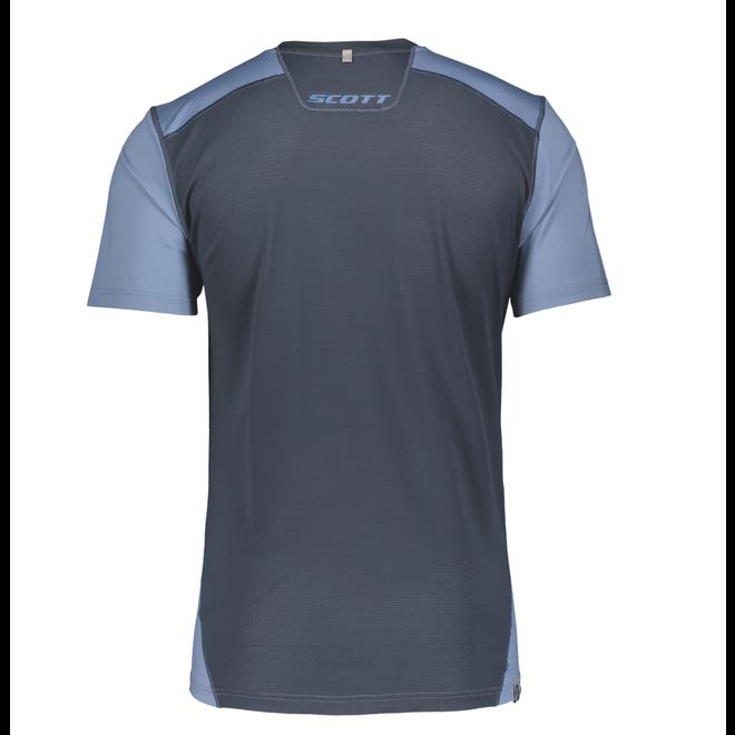 Scott Trail MTN Tech Shirt Blauw Heren