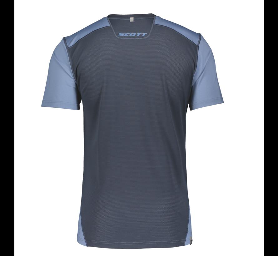 Scott Trail MTN Tech Shirt Blau Herren