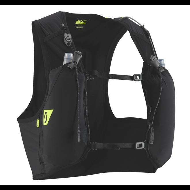 Scott Trail RC TR '4er Pack Race Weste Schwarz (4 Liter) Inklusive Softflaschen