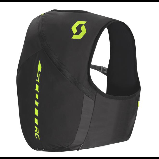 Scott Trail RC TR '10 Pack Race Weste Schwarz (10 Liter) Inklusive Softflaschen