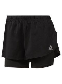 Reebok Reebok Running 2-in-1 Short Ladies Black