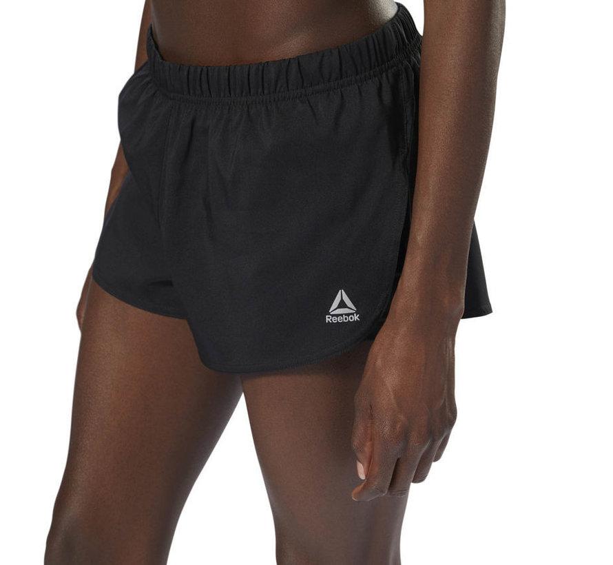 Reebok Running 2-in-1 Short Dames Zwart