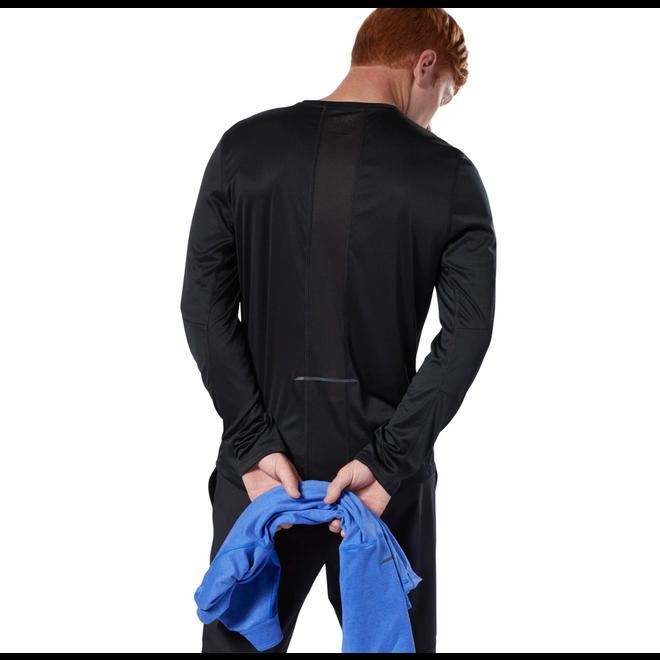 Reebok Run Essentials T-Shirt Heren Zwart