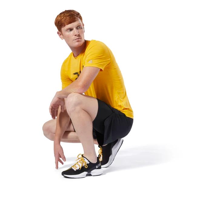 Reebok Run Essentials 2-in-1 Short Men Schwarz