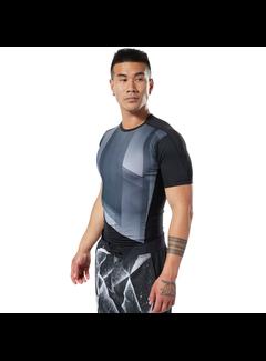 Reebok Reebok One Series Training Compressie T-Shirt Heren Zwart
