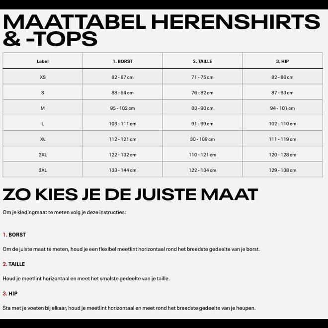 Reebok One Series Training Compressie T-Shirt Heren Zwart