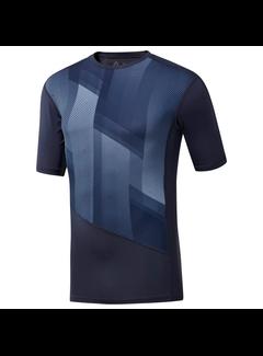 Reebok Reebok One Series Trainings-Kompressions-T-Shirt Men Navy