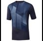 Reebok One Series Trainings-Kompressions-T-Shirt Men Navy
