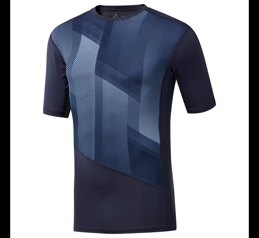 Reebok One Series Training Compressie T-Shirt Heren Navy
