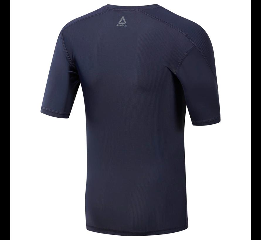 Reebok One Series Training Compression T-Shirt Men Navy