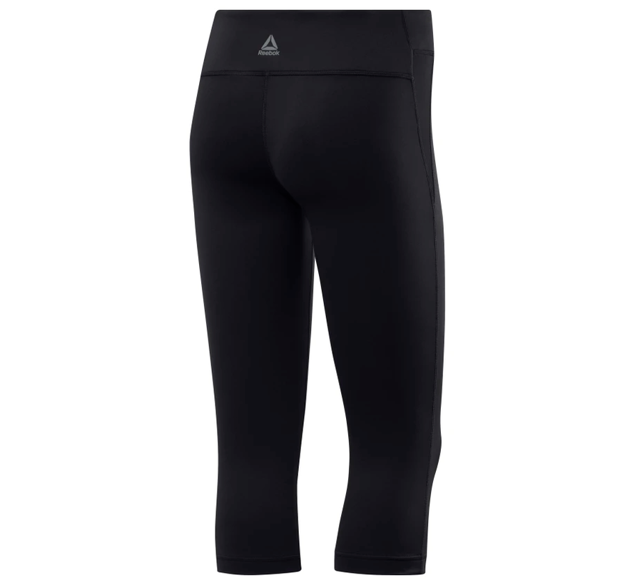 Reebok Workout Ready Capri Ladies Schwarz