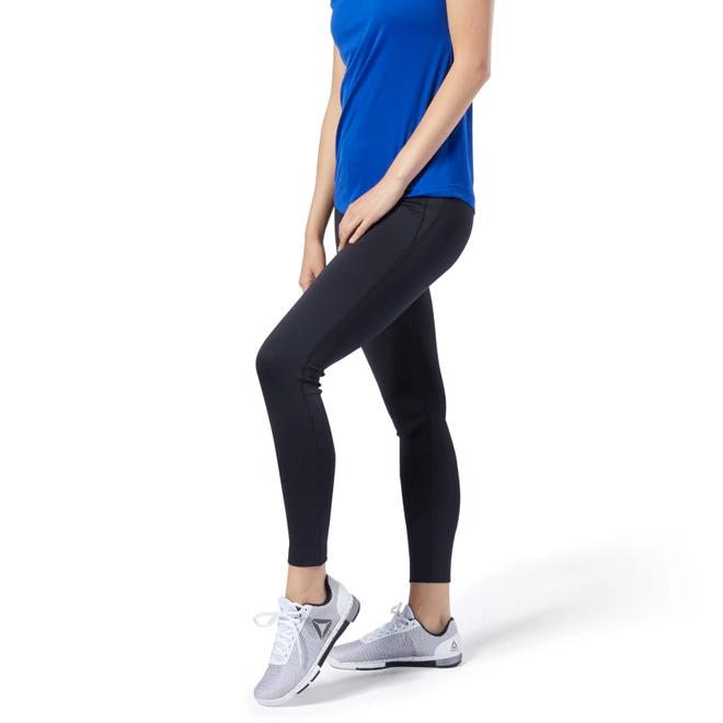 Reebok Workout Ready High-Rise Leggings Ladies Black