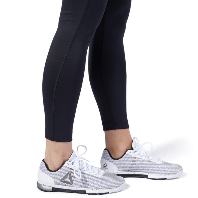 Reebok Workout Ready High Rise Leggings Damen Schwarz