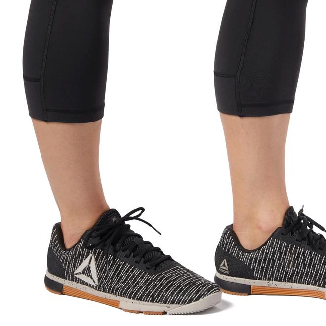 Reebok Lux 3/4 Legging 2.0 Dames Zwart