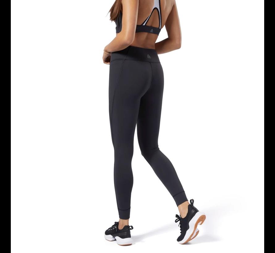 Reebok Lux Legging 2.0 Dames Zwart