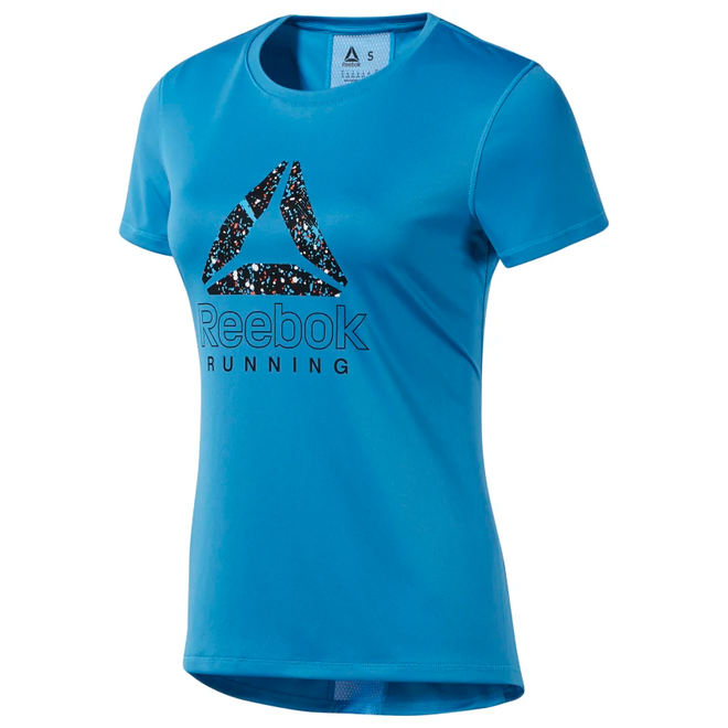 Reebok Running Essentials Grafik T-Shirt Blau