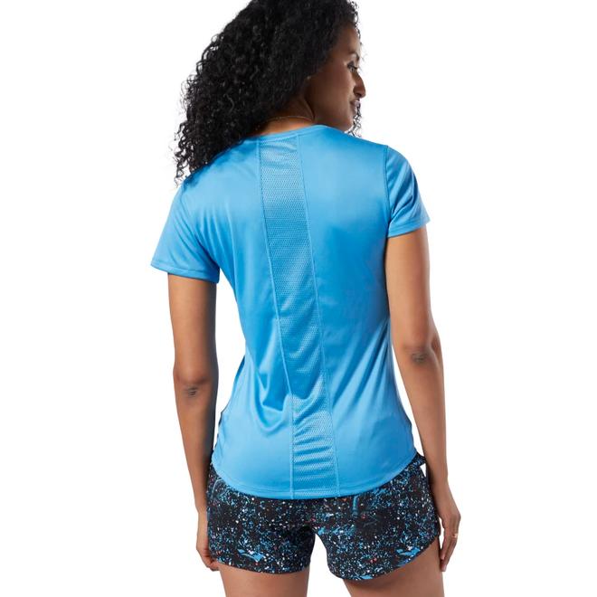 Reebok Running Essentials Graphic T-Shirt Blauw