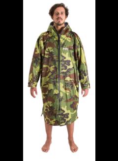 Dryrobe Dryrobe Advance Longsleeve Camouflage/Grijs