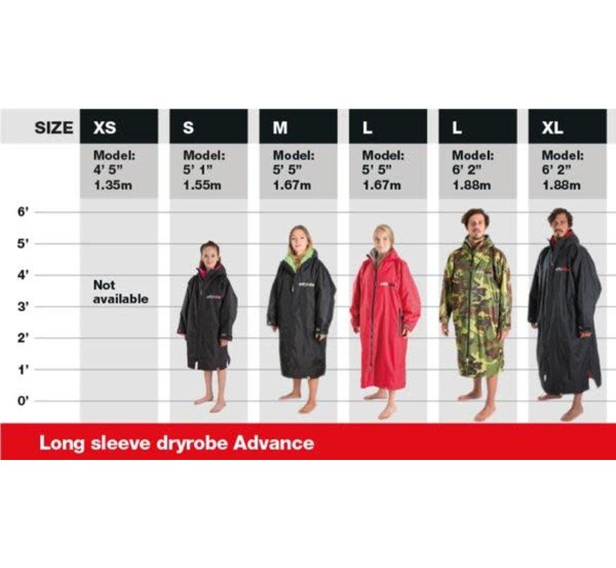 Dryrobe Advance Longsleeve Camouflage / Gray