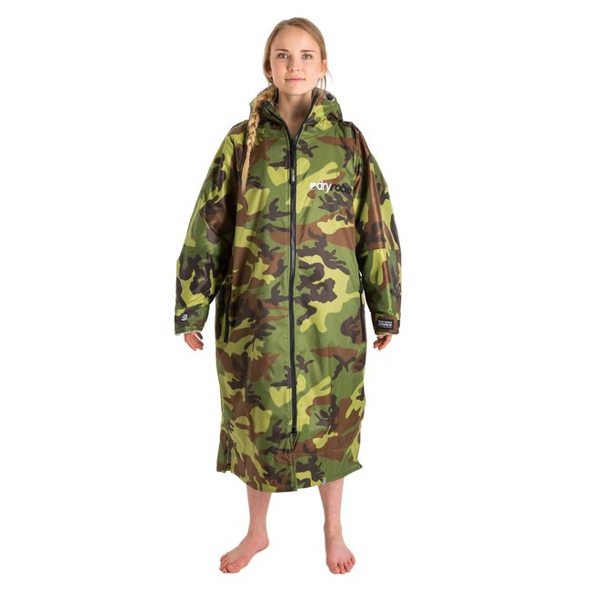 Dryrobe Advance Longsleeve Camouflage / Grau