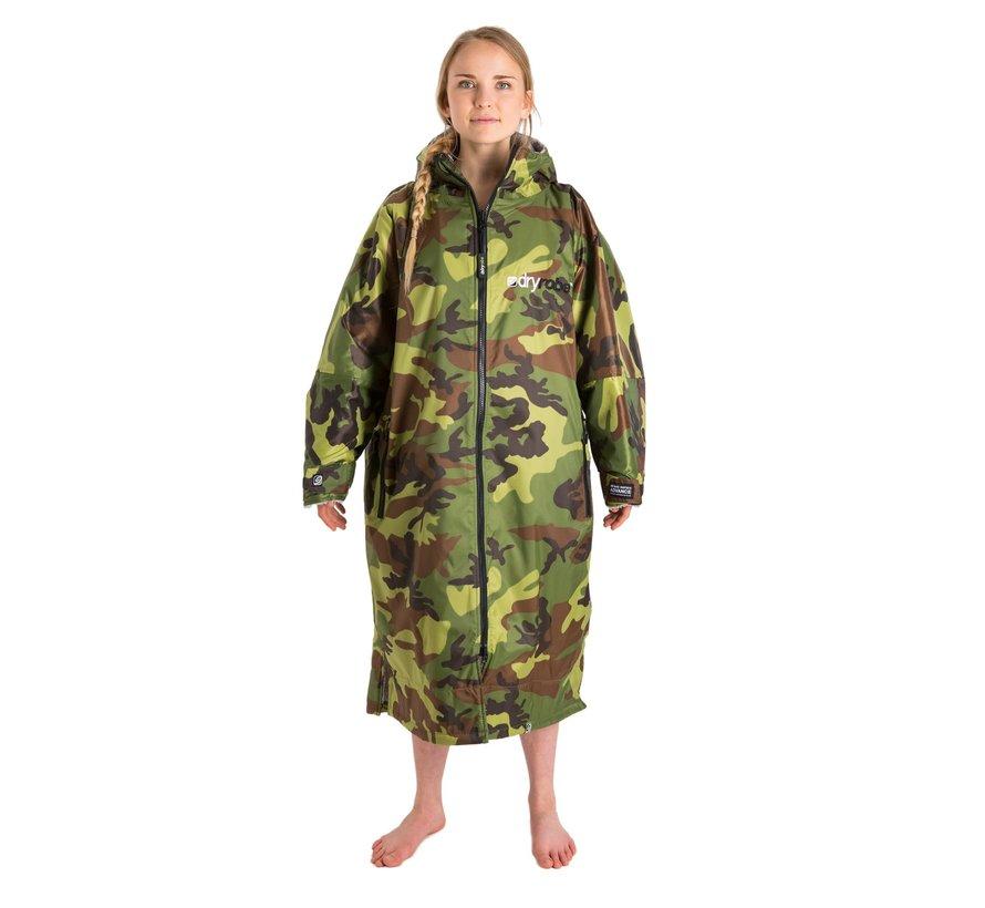 Dryrobe Advance Longsleeve Camouflage/Grijs