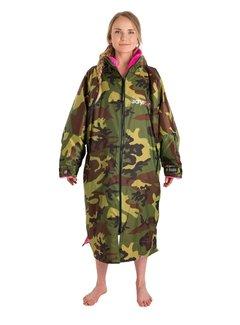 Dryrobe Dryrobe Advance Longsleeve Camouflage/Roze