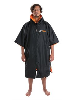 Dryrobe Dryrobe Advance Kurzarm Schwarz / Orange
