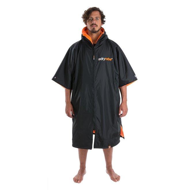 Dryrobe Advance Shortsleeve Black / Orange