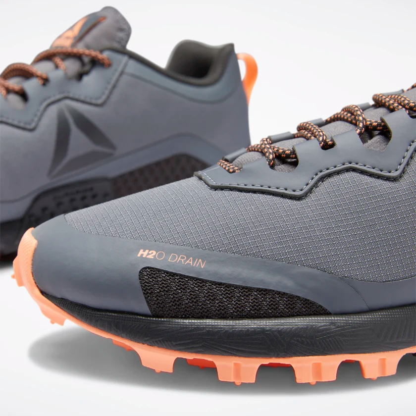 aluminio agrio Desplazamiento  Reebok Reebok All Terrain Craze Obstacle Run Shoe Gray Ladies - Dutch Mud  Men