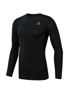 Reebok Reebok WOR Compression Shirt Longsleeve Men Black