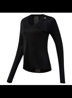 Reebok Reebok Running Essentials Longsleeve Shirt Damen Schwarz