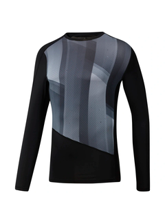 Reebok Reebok One Series Training Compression Longsleeve Men Black