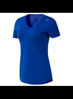 Reebok Reebok Workout Ready Speedwick T-Shirt Dames Blauw