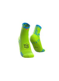 Compressport Compressport Pro Racing Socks V3.0 Run High Fluo Yellow Hardloopsokken