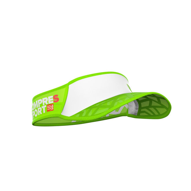 Compressport Spiderweb Ultralight Visor White / Green