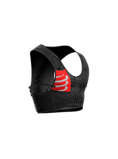 Compressport Compressport Ultrun S Pack Racevest Unisex Zwart (Inclusief 2 softflasks)