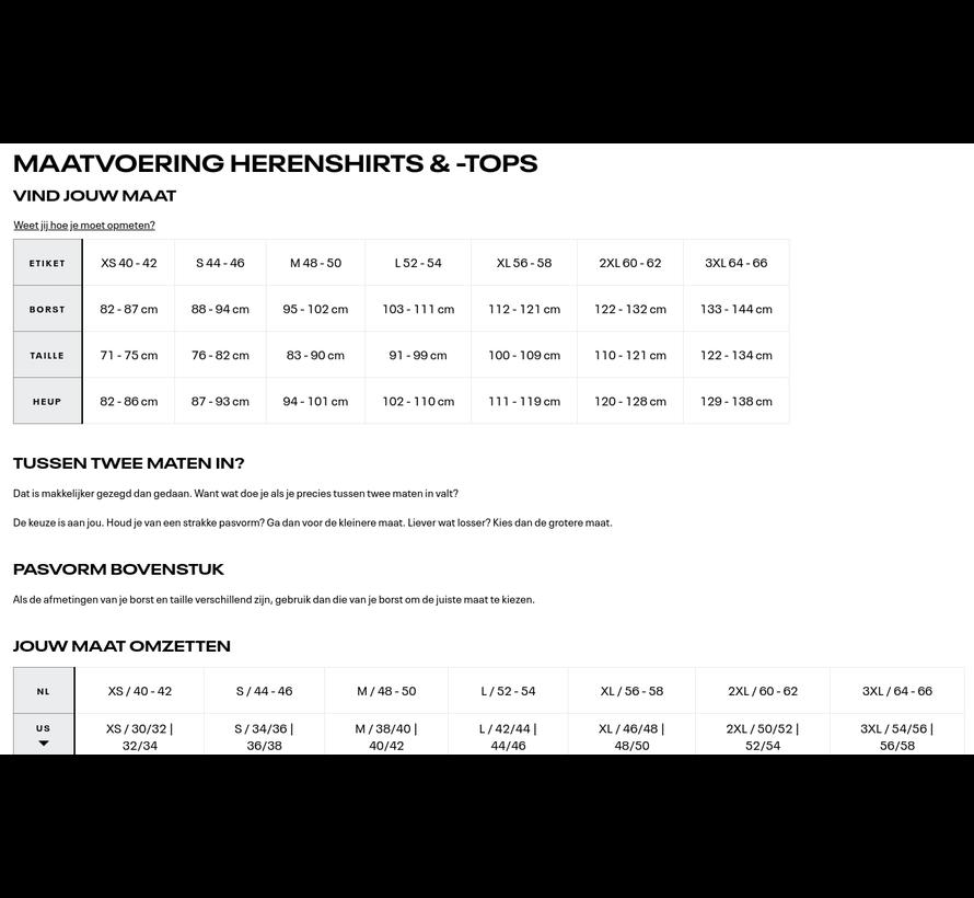 Reebok One Series Training Compressieshirt Heren Zwart