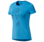 Reebok One Series Running Activchill T-Shirt Dames Blauw
