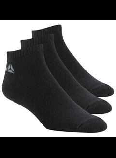 Reebok Reebok Active Core No Show Socks Black (3 pairs)